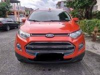 Selling Orange Ford Fiesta 2014
