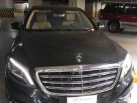 Black Mercedes-Benz S-Class 2016 for sale in Makati