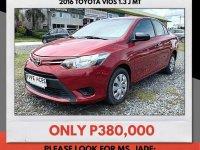 Sell 2016 Toyota Vios