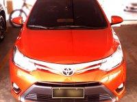 Orange Toyota Vios 2016 for sale in Marikina
