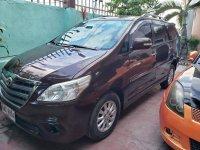 Black Toyota Innova 2015 for sale in Cebu