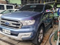 Blue Ford Everest 2016 for sale in Quezon