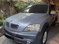 Silver Kia Sorento 2005 for sale in Manila