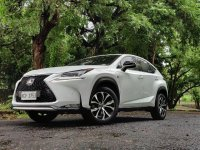 White Lexus NX 2018 for sale in Automatic
