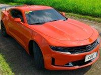 Selling Orange Chevrolet Camaro 2021 in Caloocan