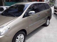 Beige Toyota Innova 2012 for sale in Manila