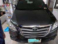 Selling Grayblack Toyota Innova 2015 in Marikina