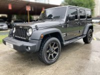 Grayblack Jeep Wrangler Unlimited 2018 for sale in Pasig