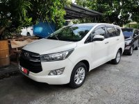 Selling Pearl White Toyota Innova 2018 in Quezon