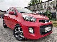 Selling Red Kia Picanto 2016 in Pateros