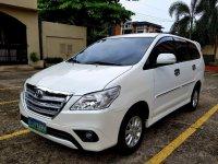 Selling Pearl White Toyota Innova 2013 in Mandaluyong