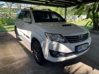 Selling Pearl White 2016 Toyota Fortuner in Davao