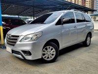 Selling Brightsilver Toyota Innova 2014 in Roxas