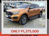 Golden Ford Ranger 2020 for sale in Mandaue