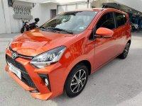 Selling Orange Toyota Wigo 2021 in Manila