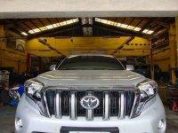 Brightsilver Toyota Prado 2016 for sale in Cebu