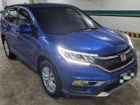 Blue Honda CR-V 2017 for sale in Manila