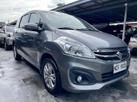 Silver Suzuki Ertiga 2017 for sale in Las Pinas