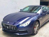 Blue Maserati Quattroporte 2018 for sale in Makati