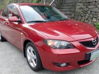 Selling Red Mazda 3 2005 in Pasig