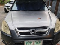 Silver Honda CR-V 2002 for sale in Taguig