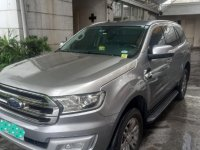 Silver Ford Everest 2016 for sale in Quezon