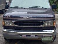 Blue Ford Econoline 1999 for sale in Manila