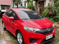 Red Honda Jazz 2016 for sale in Quezon