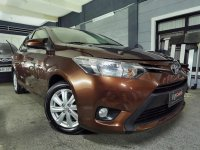 Golden Toyota Vios 2016 for sale in Manila