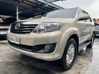 Selling Pearl White Toyota Fortuner 2014 in Las Piñas