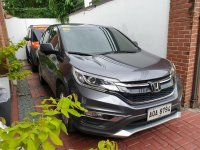 Selling Silver Honda CR-V 2016 in Cainta