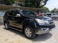 Selling Black Isuzu MU-X 2017 in Quezon