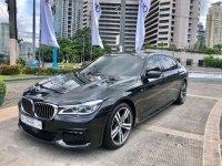 Selling Black BMW 740Li 2016 in Makati