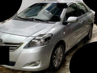 Pearl White Toyota Vios 2013 for sale in Pasig