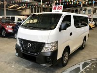Selling White Nissan NV350 Urvan 2018 in Quezon