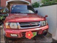 Red Mitsubishi Pajero 2001 for sale in Mexico