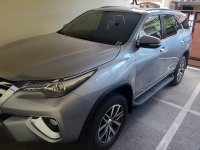 Silver Toyota Fortuner 2017 for sale in Paranaque