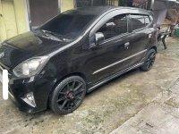 Black Toyota Wigo 2014 for sale in Quezon