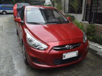 Red Hyundai Accent 2019 for sale in Quezon