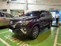 Red Toyota Fortuner 2016 for sale in Manila