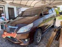 Brown Toyota Innova 2013 for sale in Davao
