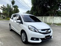 White Honda Mobilio 2016 for sale in Manila