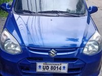 Selling Blue Suzuki Alto 2016 in Marikina