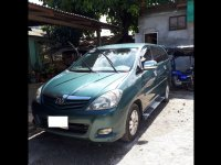 Green Toyota Innova 2012 for sale in Pasig