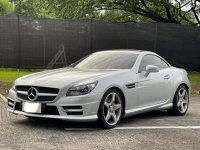 Pearl White Mercedes-Benz SLK350 2014 for sale in Las Pinas