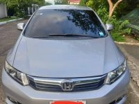 Silver Honda Civic 2014 for sale in San Mateo