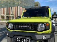 Yellow Suzuki Jimny 2021 for sale in Makati