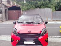 Sell Red 2016 Toyota Wigo in Quezon City