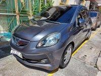 Silver Honda Brio 2015 for sale in Mandaluyong