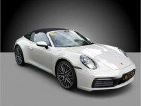 Pearl White Porsche 911 Targa 4S 2021 for sale in Pasig